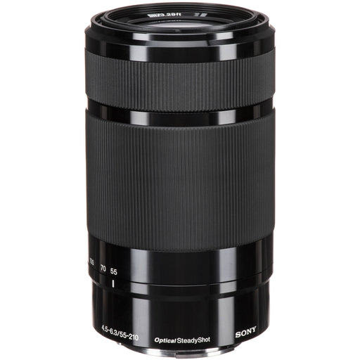 Sony E 55-210mm f/4.5-6.3 OSS Black Lens