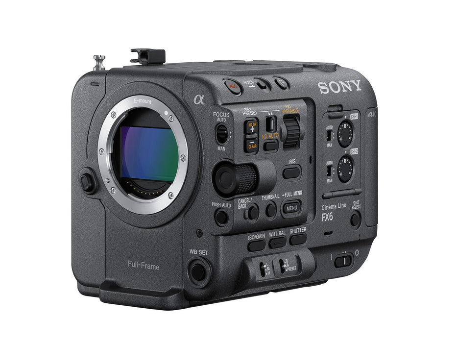 Sony FX6 Full-Frame Cinema Camera