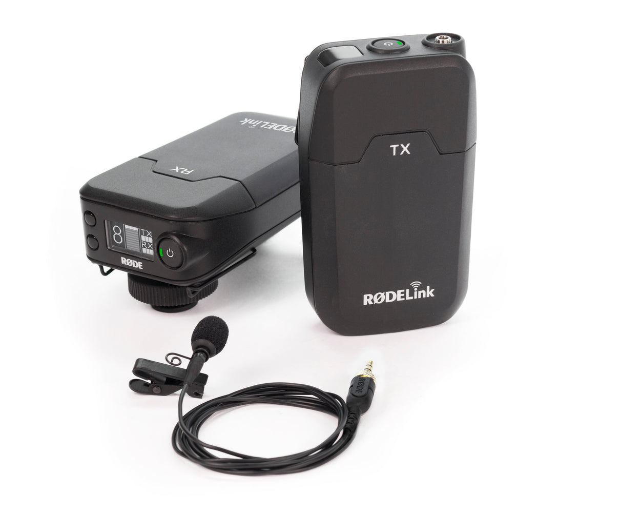 RØDE Rodelink Filmmaker Kit Camera-Mount Wireless Omni Lavalier Mic System