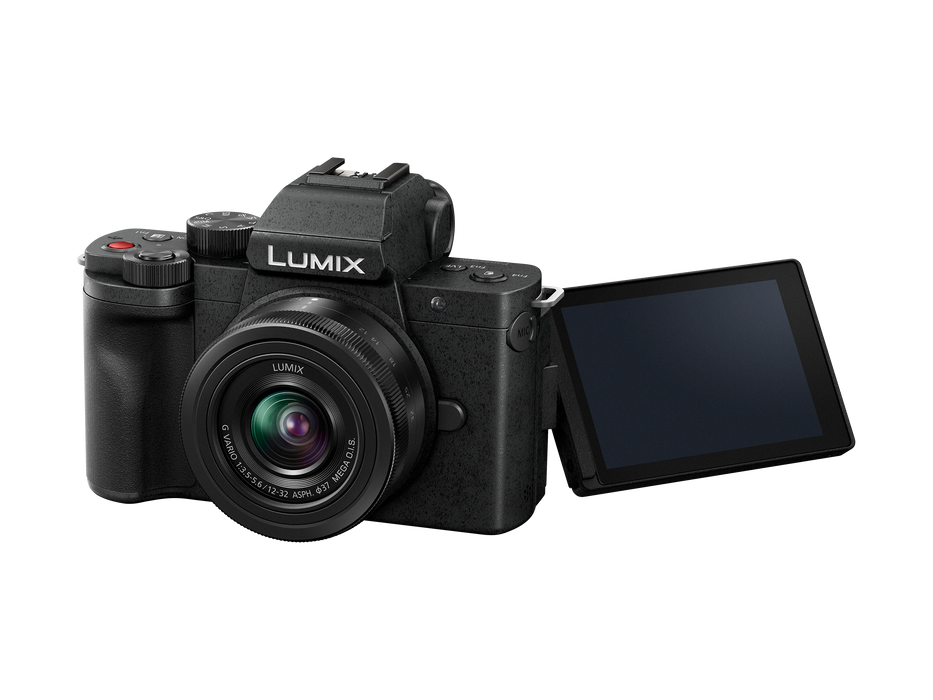 Panasonic Lumix DC-G100 Mirrorless Vlogging Camera with 12-32mm Lens Kit