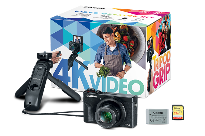 Canon Powershot G7 X Mark III Video Creator Kit-Camera, Point & Shoot-Canon-Pro Photo Supply