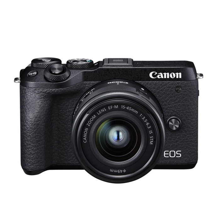 Canon EOS M6 Mark II Mirrorless Digital Camera - Body Only
