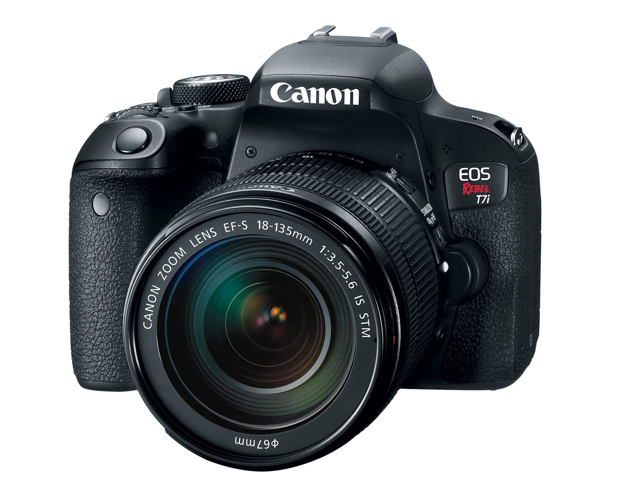 Canon EOS T7i Rebel with 18-135mm f/4-5.6 IS STM Lens Kit