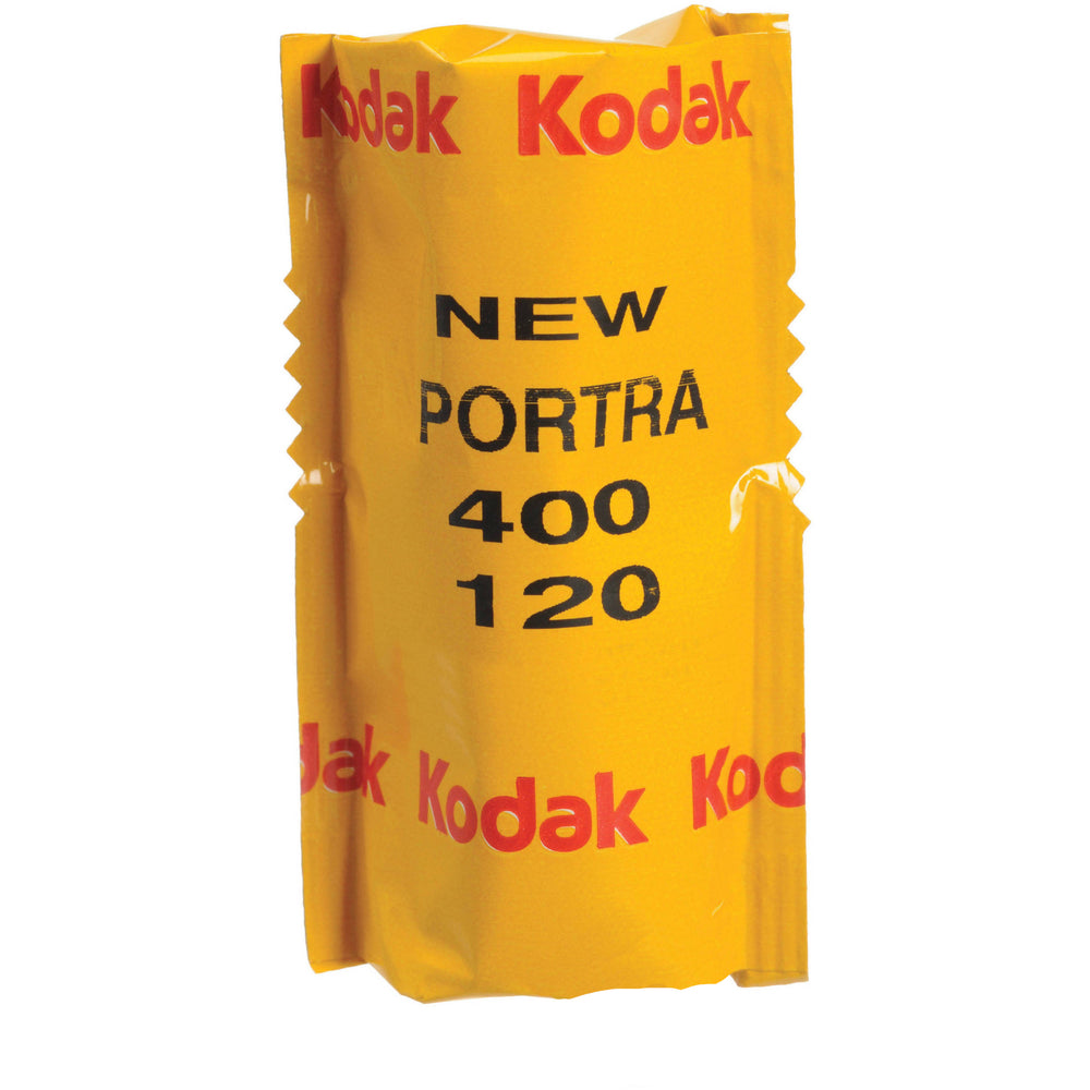 Kodak Professional Portra 400 Color Negative 120 Format Film, Single Roll