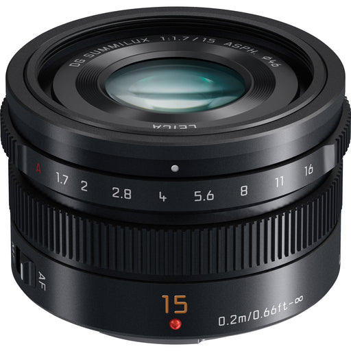 Panasonic Leica DG Summilux 15mm f/1.7 Aspherical Lens