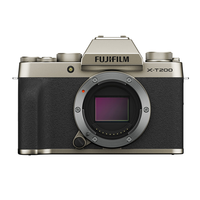 FujiFilm X-T200 Mirrorless Digital Camera-Camera, Mirrorless-Fujifilm-Pro Photo Supply