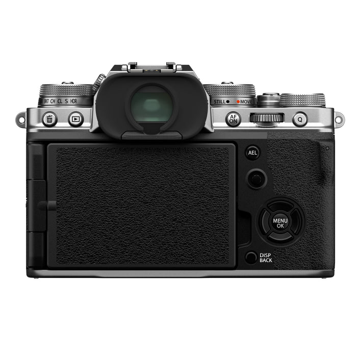 Fujifilm X-T4 Mirrorless Camera (Silver) - Body Only