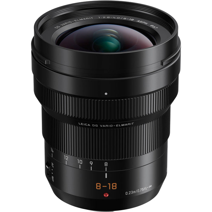 Panasonic Leica DG Vario-Elmarit 8-18mm f/2.8-4 Aspherical Lens