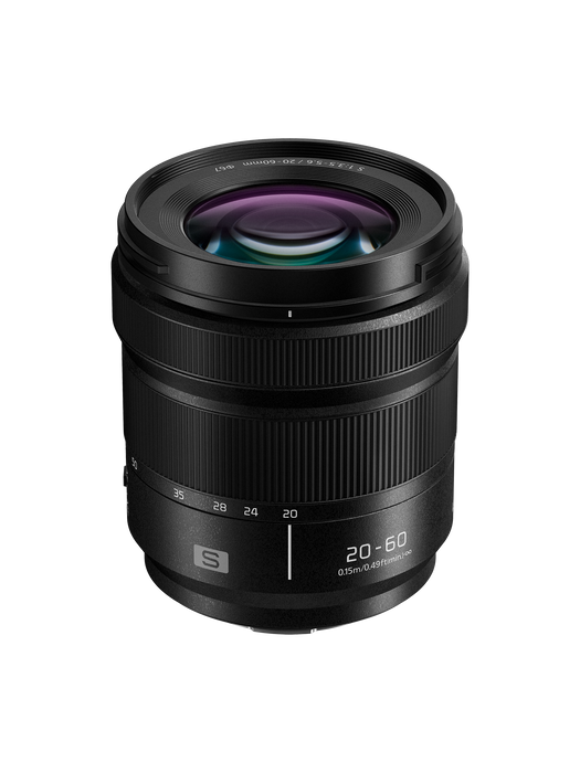 Panasonic LUMIX S Series 20-60mm F3.5-5.6 Mirrorless L Mount Lens