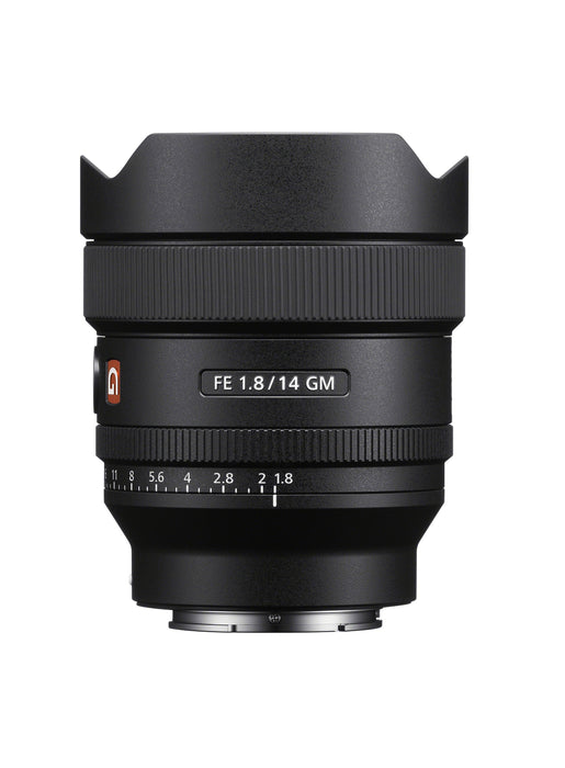 Sony FE 14mm f/1.8 Ultra Wide GM Lens