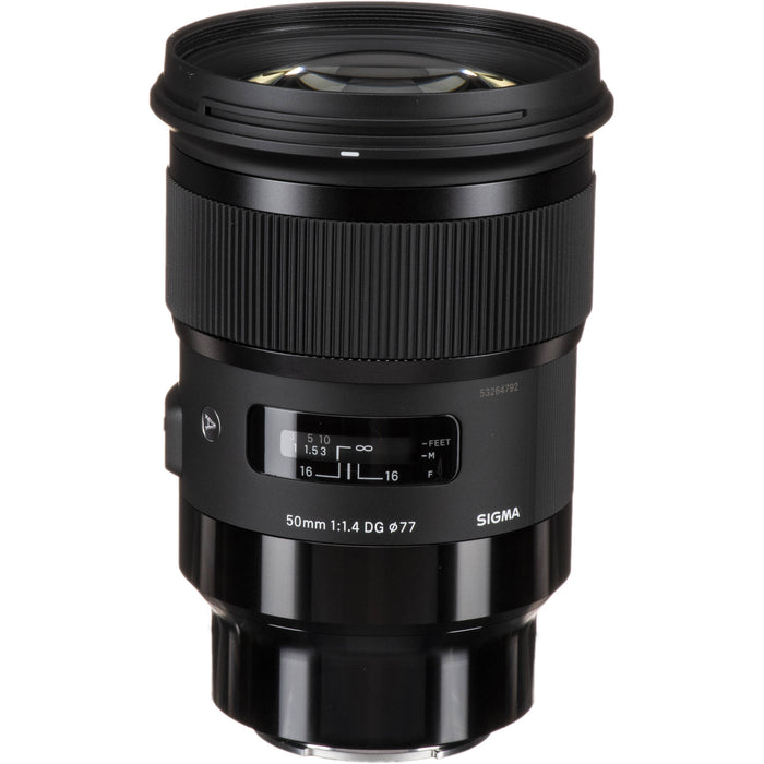 Sigma 50mm f/1.4 Art DG HSM - Sony E Mount Lens