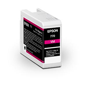 Epson 770 UltraChrome Ink for P700 Series, 25mL