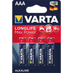VARTA AAA Max Power 4-Pack