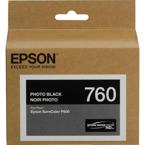 Epson T760 Photo Black 26ml
