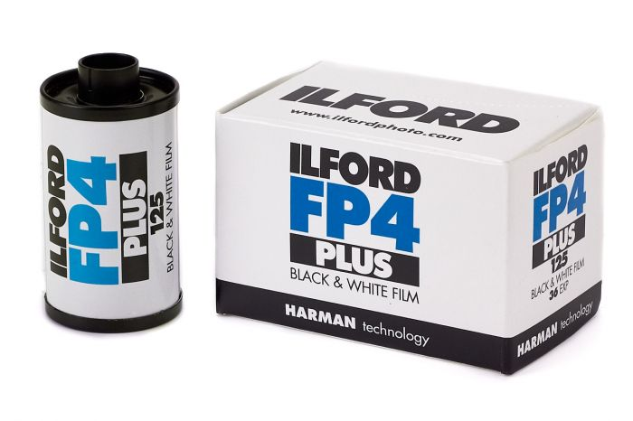 Ilford Fp4 Plus 125 Black & White 35mm Film