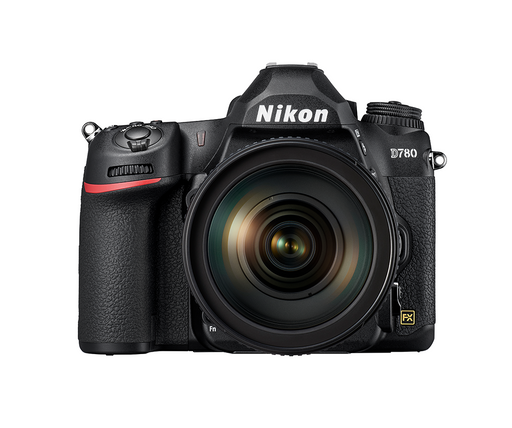 Nikon D780 FX-format Digital SLR Camera with 24-120 f4 Lens