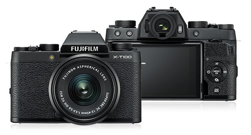 FujiFilm X-T100-Camera, Mirrorless-Fujifilm-Pro Photo Supply