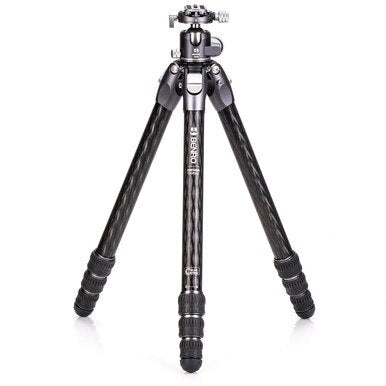 Benro  #3 Tortoise Columnless Carbon Fiber One Series Tripod with GX35 Ball Head