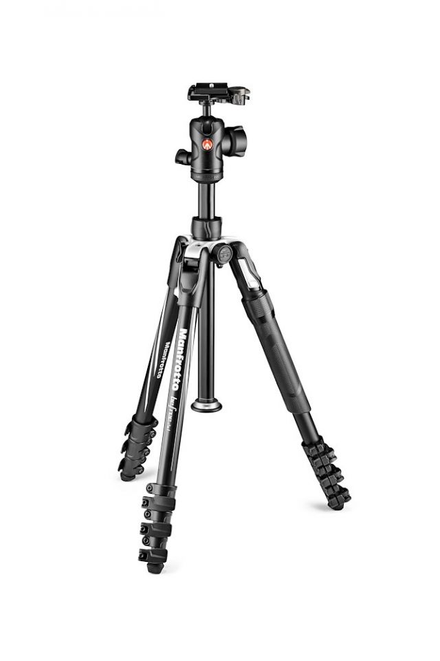 Manfrotto Befree 2N1 Aluminum Travel Tripod with 494 Ball Head