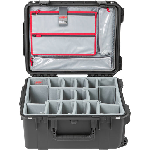 SKB iSeries 2015-10 Case with Think Tank Designed Photo Dividers & Lid Organizer