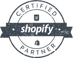Shopify certified partner badge
