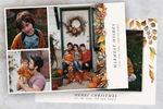 Warm Florals - 5 x 7 Custom Holiday Cards