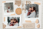 Gift Tags in Neutrals - 5 x 7 Custom Holiday Cards