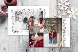 Classic Floral - 5 x 7 Custom Holiday Cards