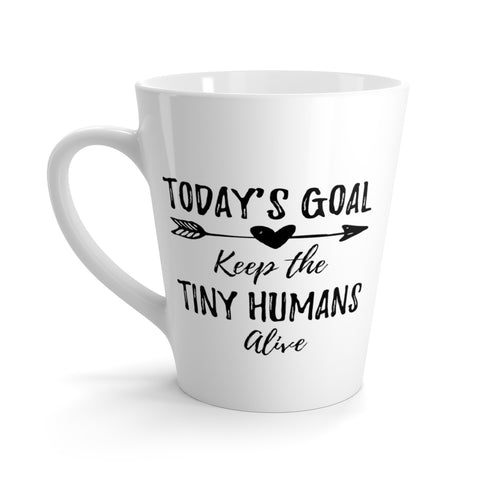 Today's Goal Latte Mug