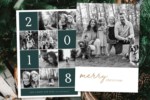 2020 Current Year - 5 x 7 Custom Holiday Cards