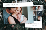 Joy Tile - 5 x 7 Custom Holiday Cards