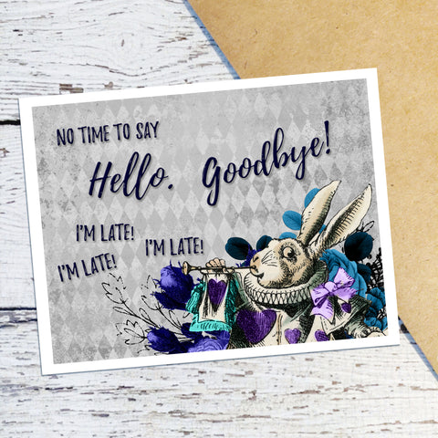 White Rabbit Note Cards