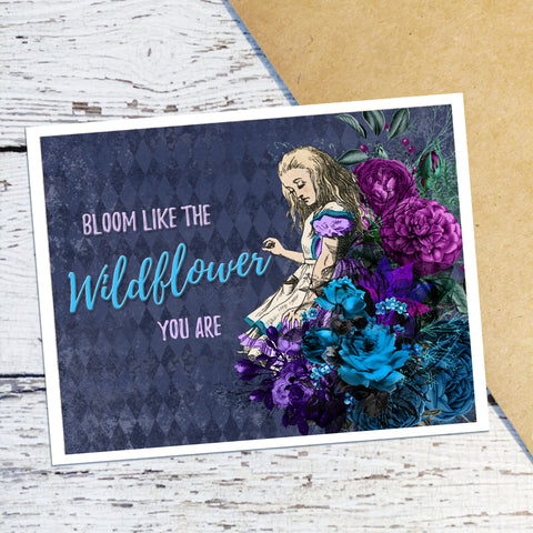 Bloom Alice Note Cards