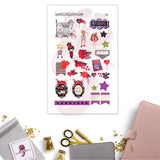Beetlejuice Planner Stickers