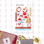 Belle Personal Planner Stickers