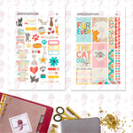 Colorful Pets A5 Planner Stickers