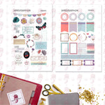 Cozy Days Personal Planner Stickers