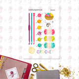 Crochet Brights Personal Planner Stickers