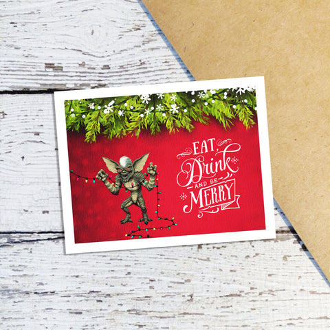Gremlins Holiday Cards