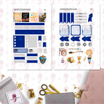 Wizarding House Personal Planner Stickers Ravenclaw