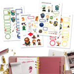 Wizarding Planner Stickers
