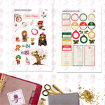 Wizarding Holiday Personal Planner Stickers