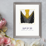 Hufflepuff Personalized Star Map Gift
