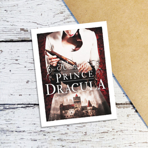 Hunting Prince Dracula Note Cards