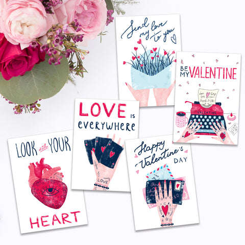 Tattooed Love Note Cards