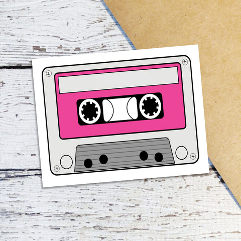 Mixtape Note Cards