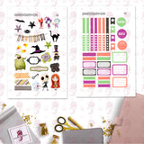 Nightmare Before Christmas Personal Planner Stickers