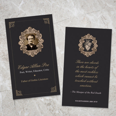 Poe Mini Bookmark