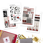 Poe A5 Planner Stickers - Printable