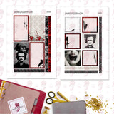 Poe Letter Planner Stickers